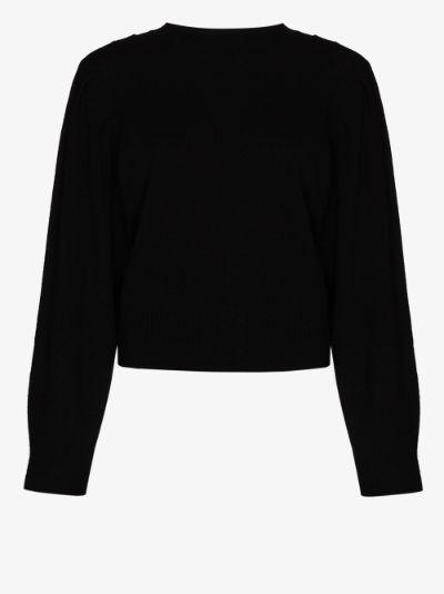 Finn high neck cashmere sweater