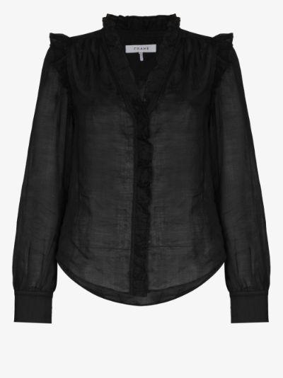 Lauren frilled blouse