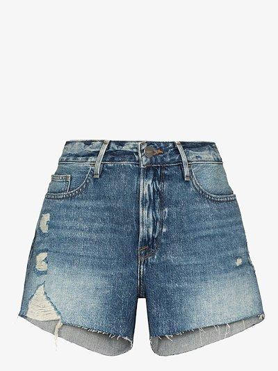 Le Grand Garcon denim shorts