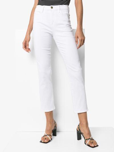 Le High straight leg jeans