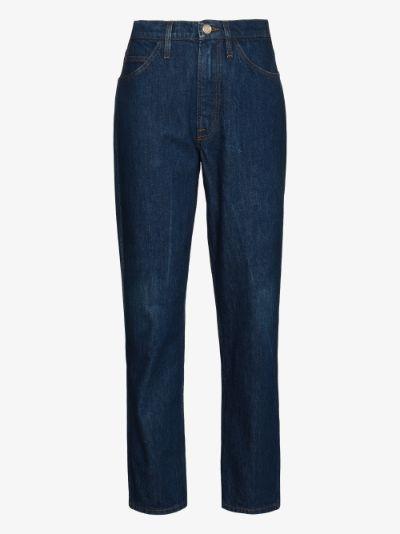 Le Italien straight leg jeans