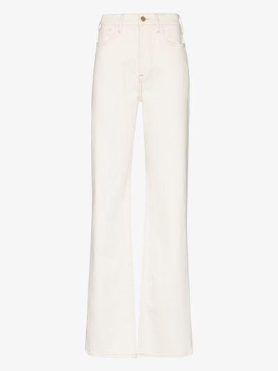 Le Jane high waist straight leg jeans