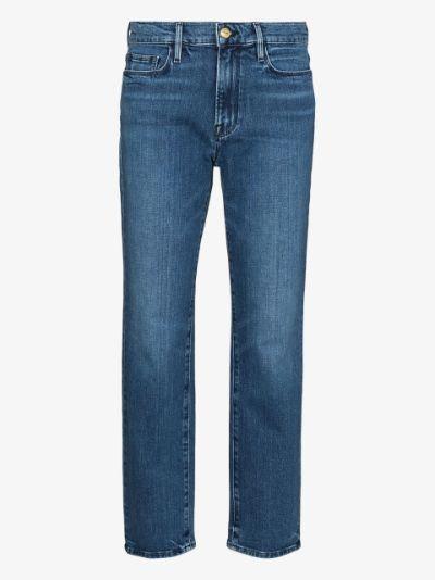 Le Nouveau cropped jeans