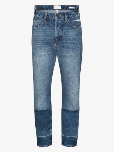 Le Original Mix Cloud straight leg jeans