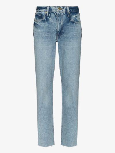 Le Piper straight leg jeans