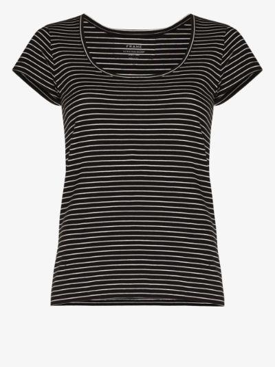 Le Scoop striped cotton T-shirt
