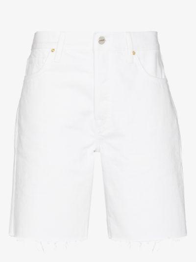Le Slouch denim Bermuda shorts