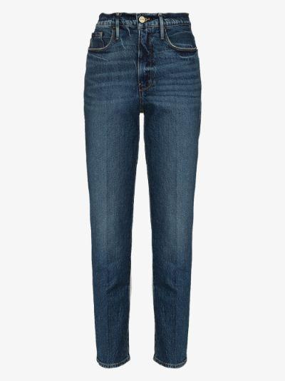 Le Sylvie Slender straight leg jeans