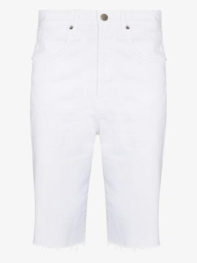 Le Vintage denim Bermuda shorts