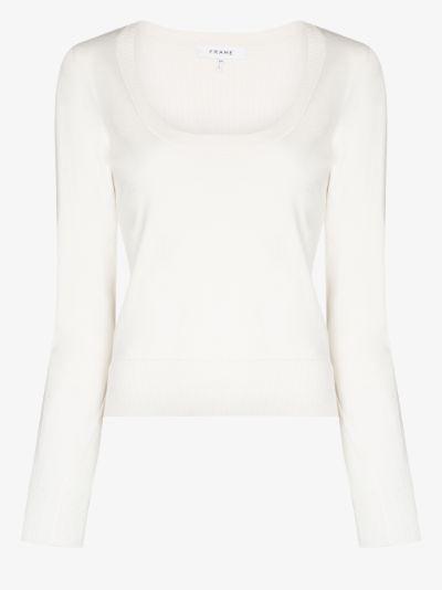 Luxe scoop neck sweater