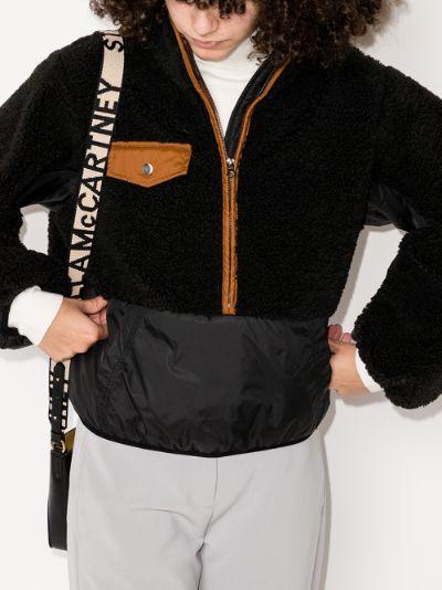 Shell Panelled Fleece Jacket