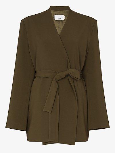 Belted wrap Jacket