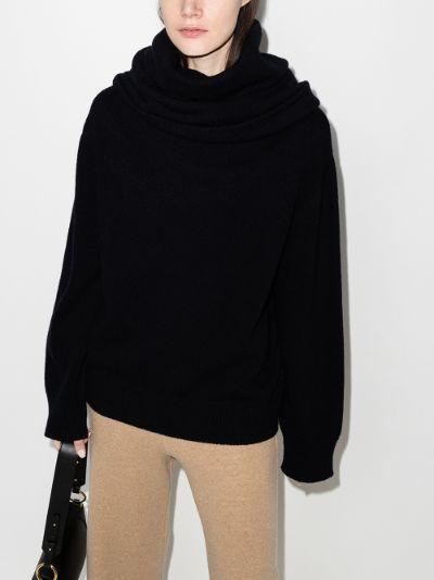 Noemie Cowl Neck Sweater