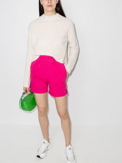 Burl high waist shorts