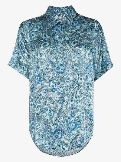 Fifi silk pyjama shirt