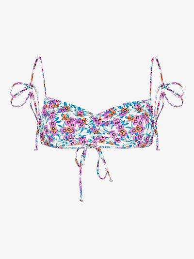 Foxy tie strap bikini top