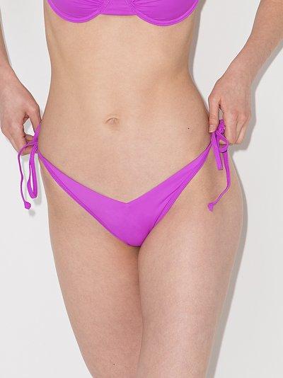 Leigh High Leg Bikini Bottoms