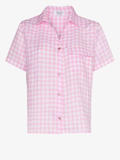 lou gingham shirt