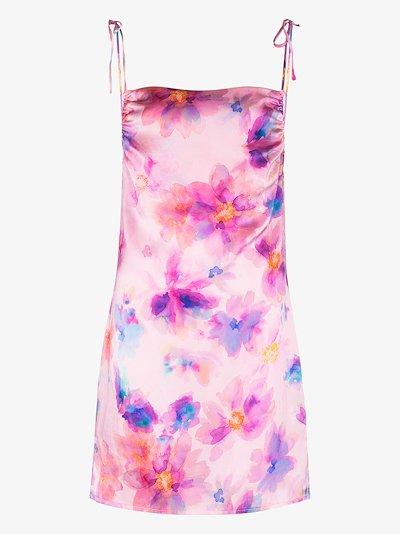 Margrette floral mini dress