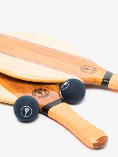 orange trancoso beach bat set