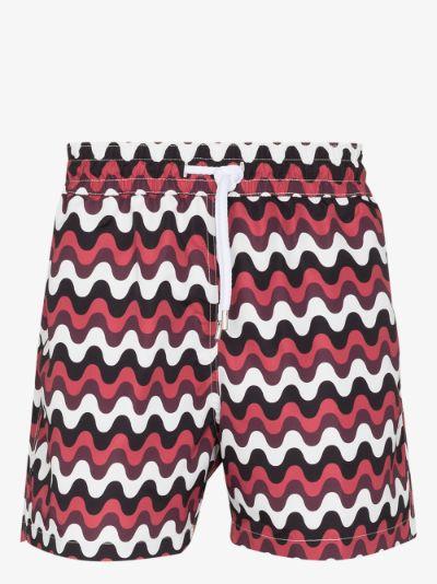 Sport Copacabana print swim shorts