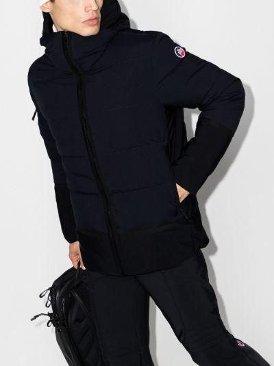 Abel padded hooded jacket
