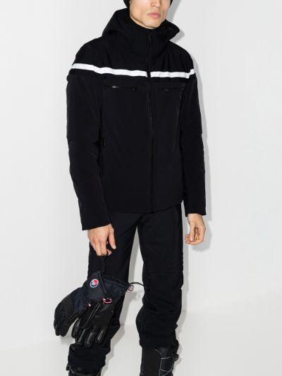 Alfonse hooded ski jacket