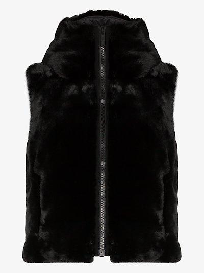 Pegase faux fur gilet
