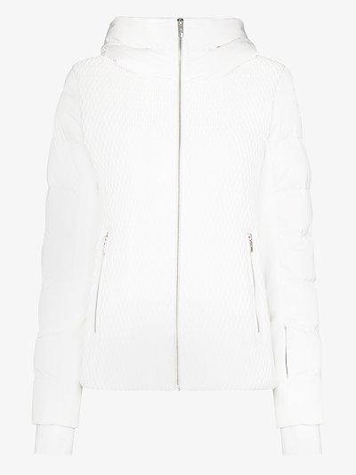 Roxane hooded puffer jacket