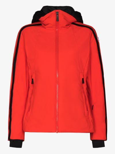 Sidonie contrast hood ski jacket
