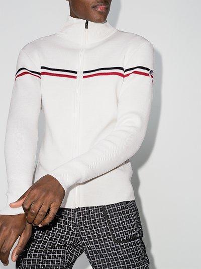 Wengen Fiz 2 striped wool sweater