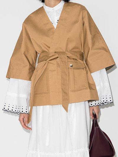 kimono wrap jacket