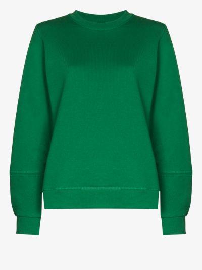 rear logo sweatshirt