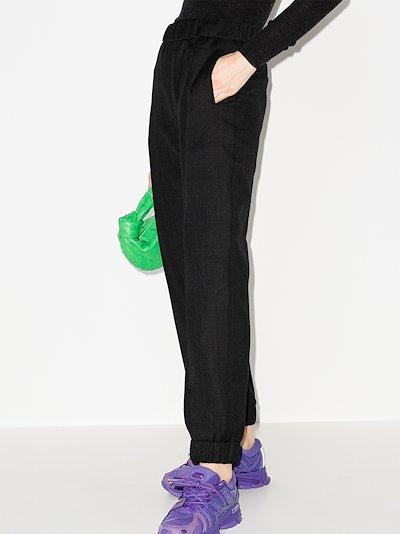 slim leg track pants