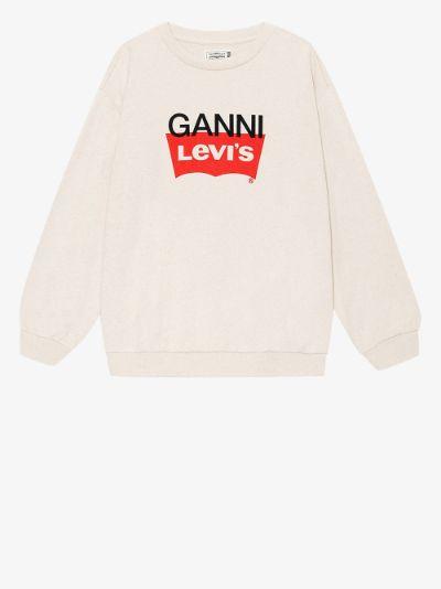 X Levi's Snap back Logo Sweatshirt
