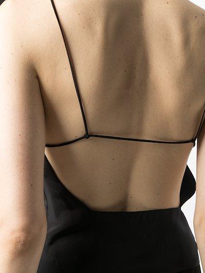 Susa open-back silk top