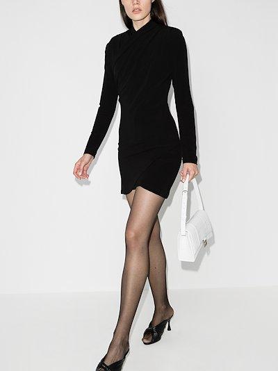 Tver wrap mini dress