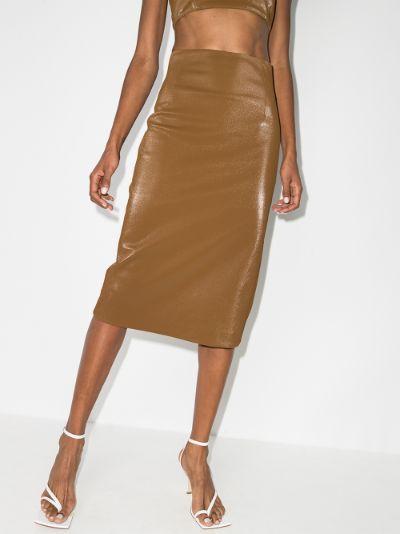 Umea high waist pencil skirt