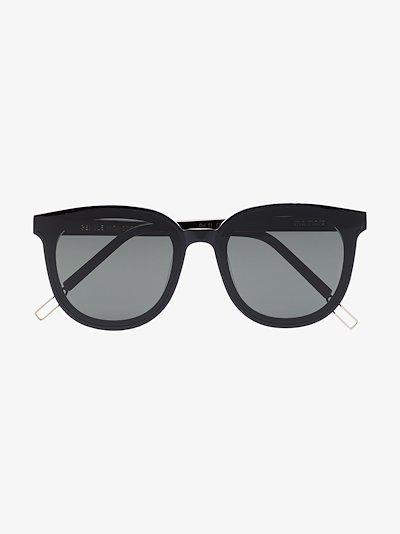 black Ma Mars 01 round wayfarer sunglasses