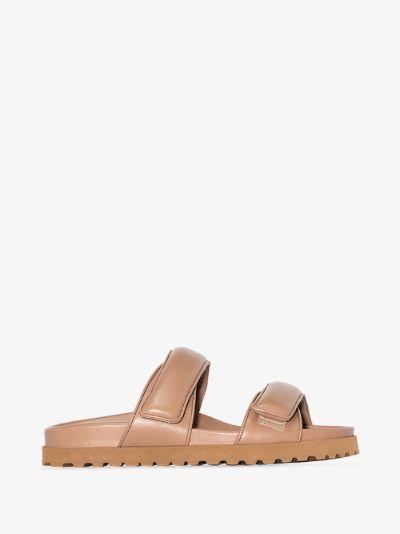 X Pernille Teisbaek brown Perni 11 leather sandals