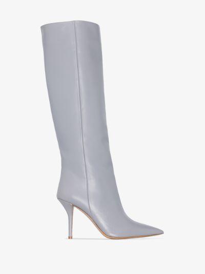 X Pernille Teisbaek grey Perni 06 85 leather boots