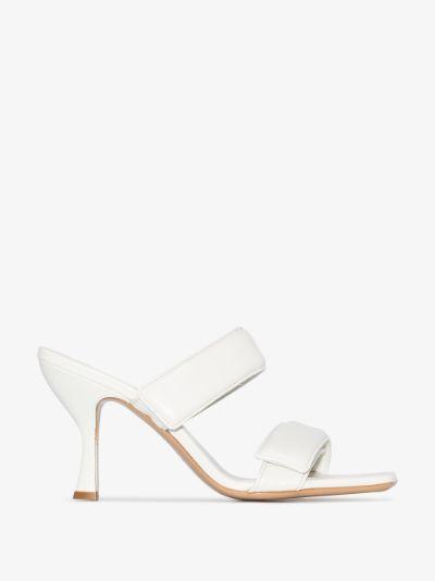 X Pernille Teisbaek white Perni 03 80 leather sandals