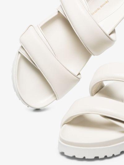 X Pernille Teisbaek white Perni 11 leather sandals
