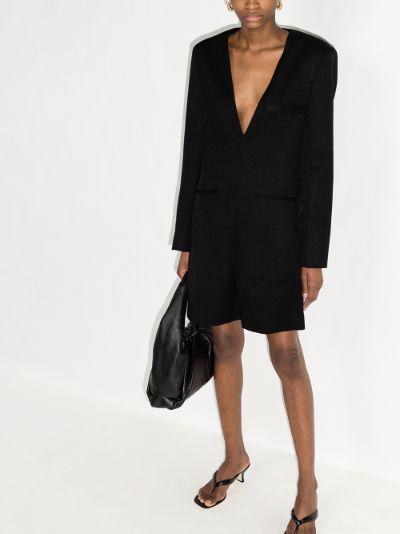 tailored blazer playsuit
