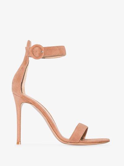 Neutral Portofino 105 Suede Sandals