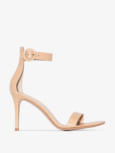 Neutral Portofino 85 Leather Sandals