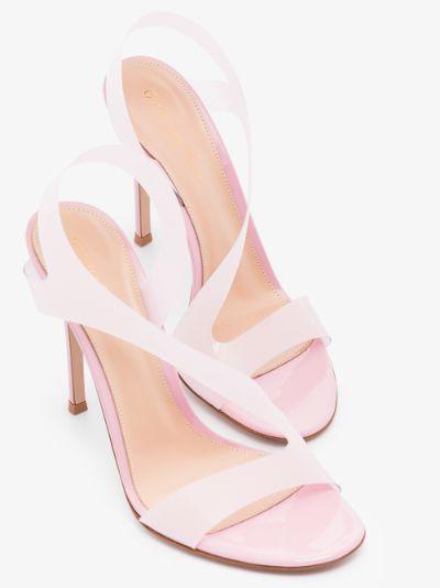 Pink Metropolis 115 PVC Sandals