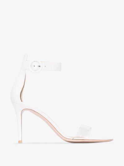 white Portofino 85 sandals