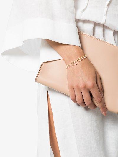 18K rose gold and white madone bracelet