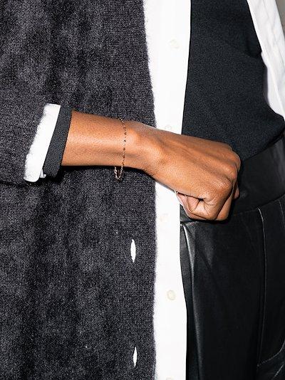 18K rose gold Classic Gigi 17 CM beaded bracelet